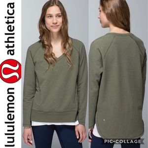 Lululemon After Asana French Terry Pullover